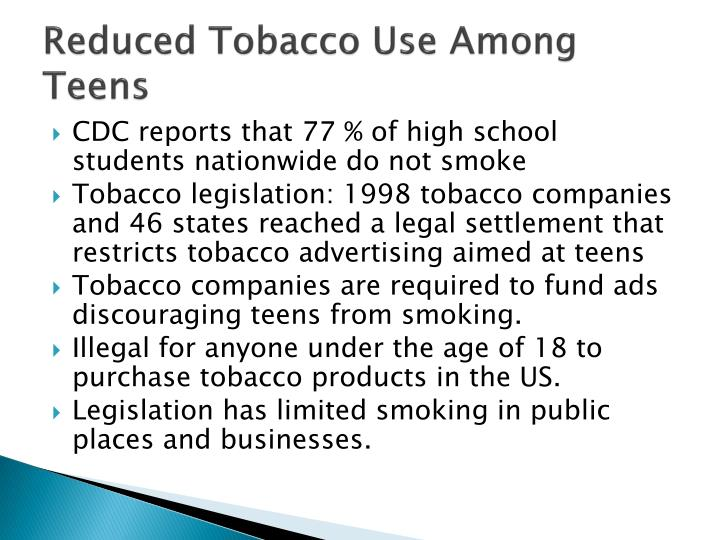 smoking habit among teenagers The effects of smoking on teenagers and young adults  there is an increased risk that the individual will begin the habit of smoking as well.