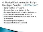 4 marital enrichment for early marriage couples is it effective