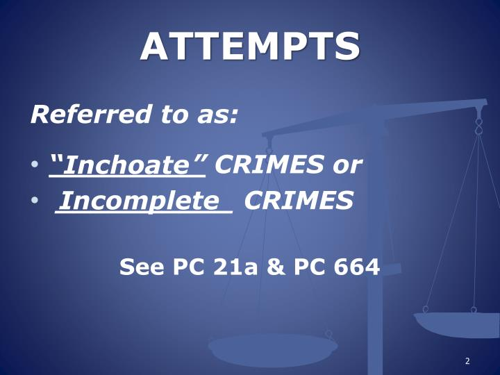 ATTEMPTS
