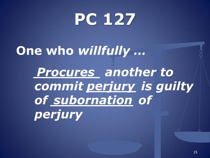 PC 127