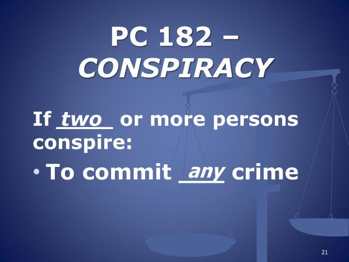 PC 182