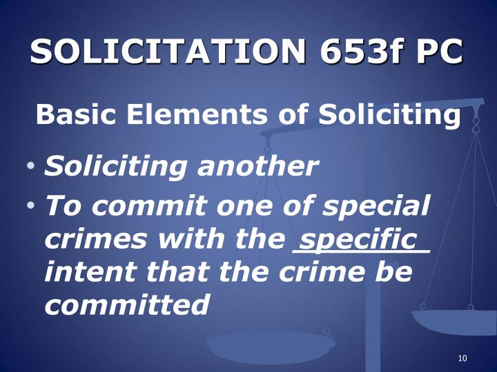 SOLICITATION 653f PC
