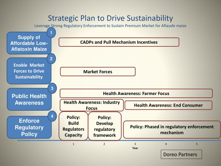 Strategic Plan to Drive Sustainability