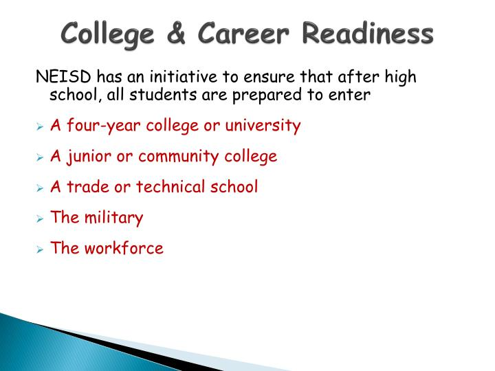 College & Career Readiness