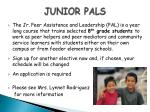 junior pals