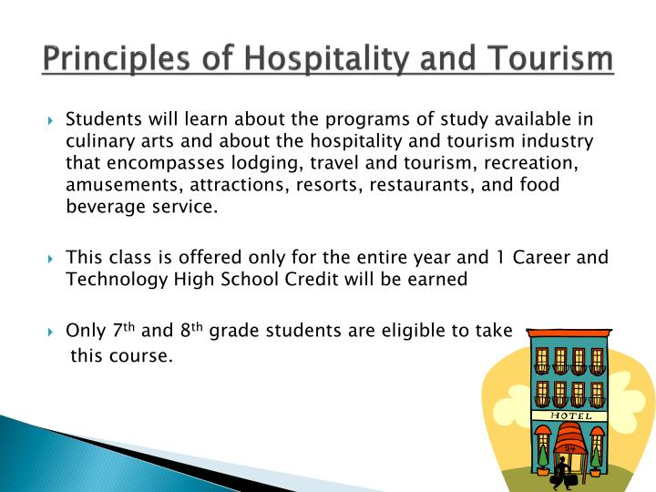 Principles of Hospitality and Tourism