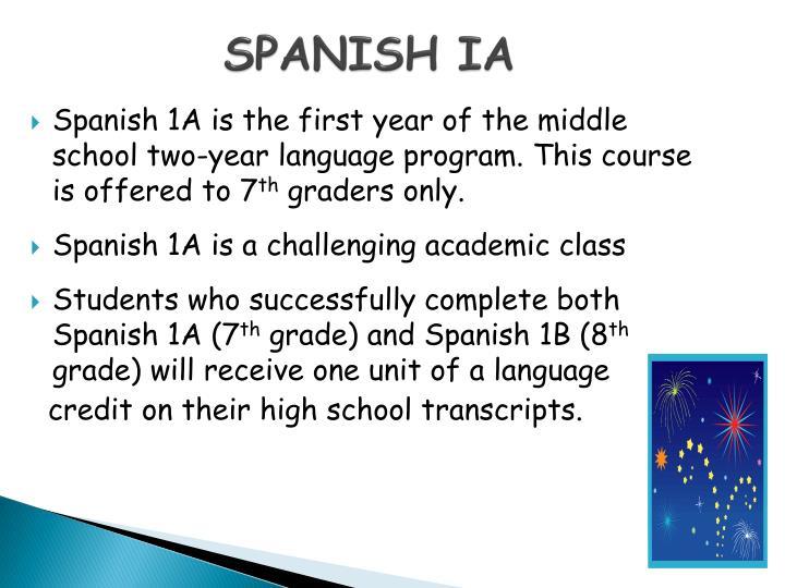 SPANISH IA