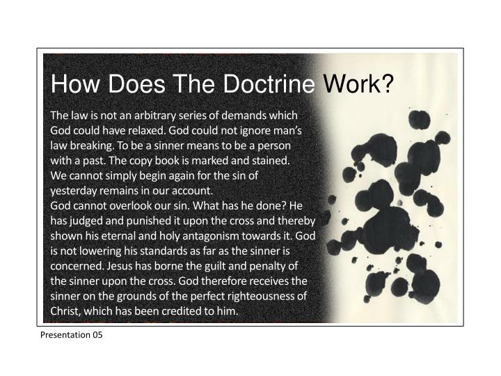 How Does The Doctrine