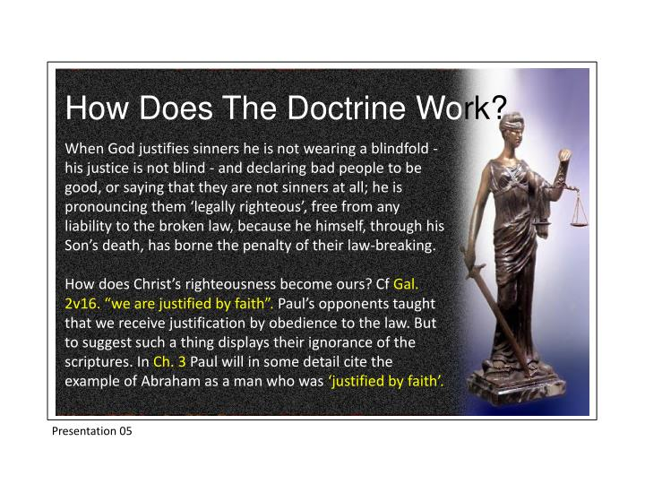 How Does The Doctrine Wo