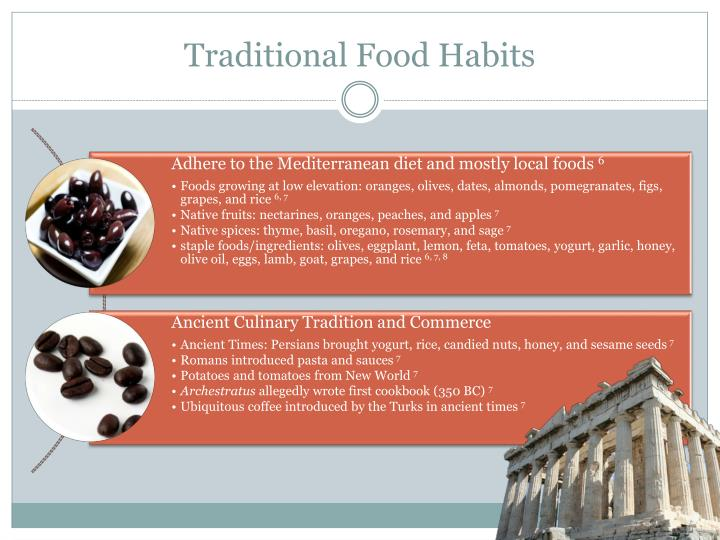 Traditional Food Habits