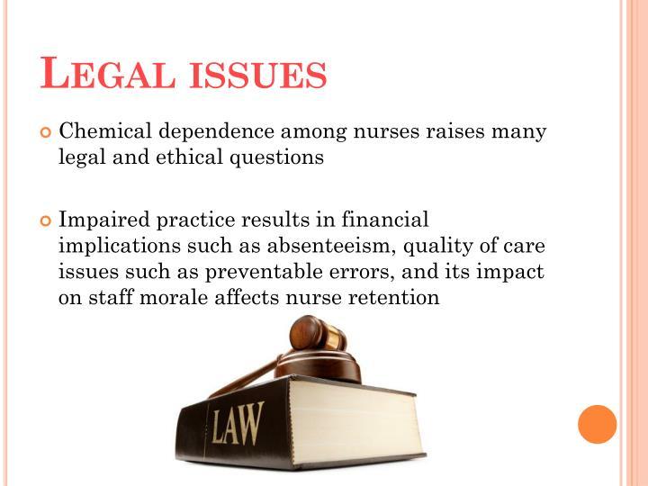 chemical dependency among nurses