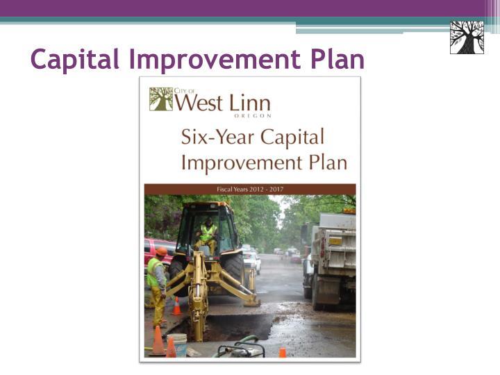 Capital Improvement Plan