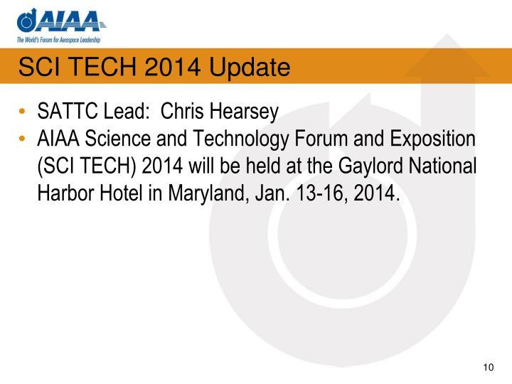SCI TECH 2014 Update