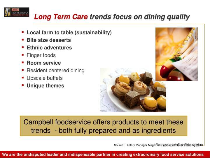 Long Term Care