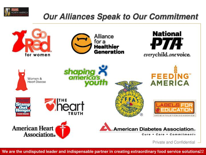 Our Alliances Speak to Our Commitment