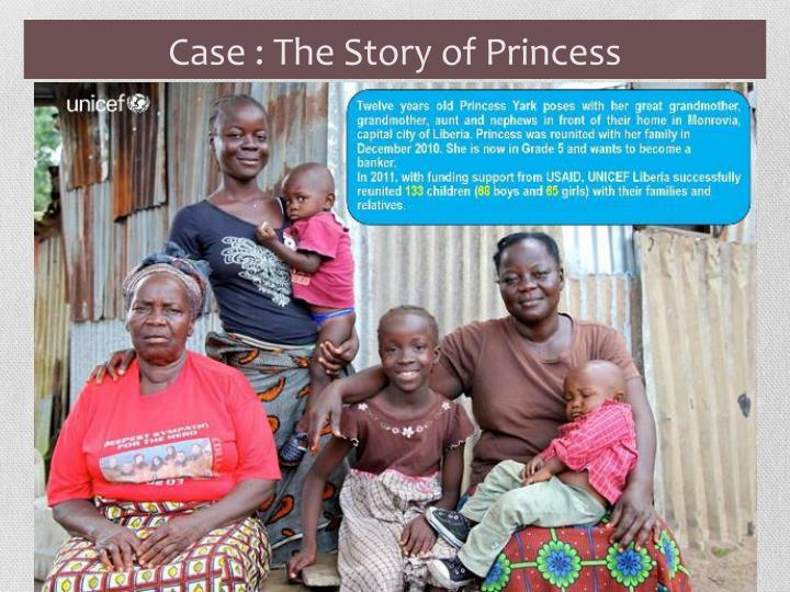Case : The Story of Princess
