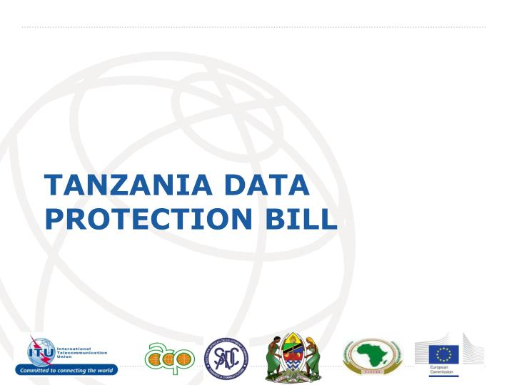 Tanzania data protection bill