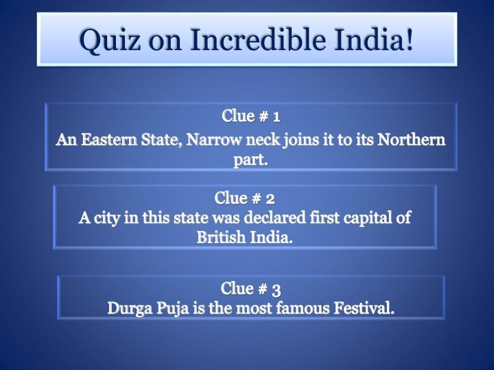 Clue # 1