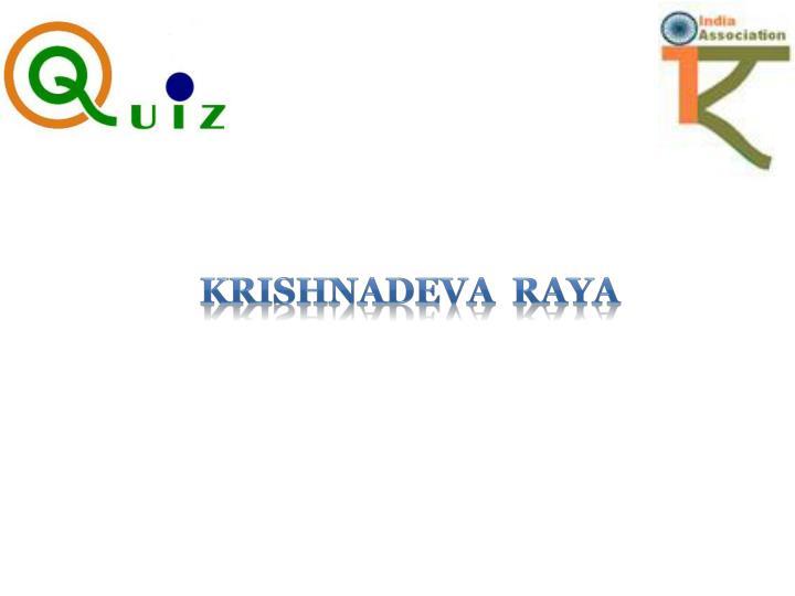 Krishnadeva