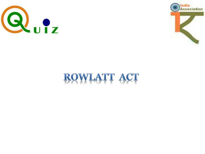 Rowlatt