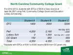 north carolina community college grant2