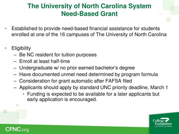 The University of North Carolina System