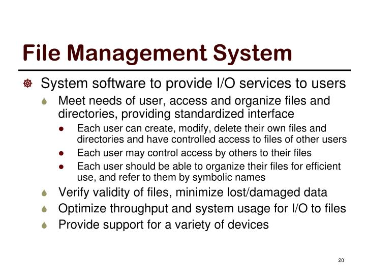 File Management System