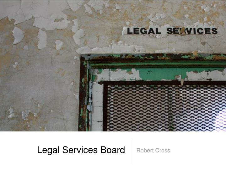 Legal services board