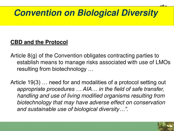 Convention on Biological