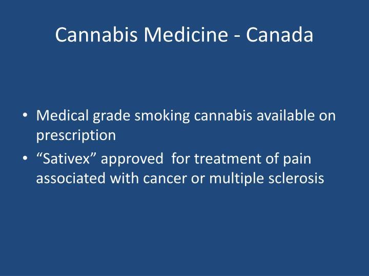 Cannabis Medicine - Canada