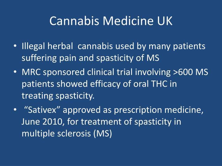 Cannabis Medicine UK