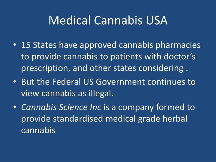 Medical Cannabis USA
