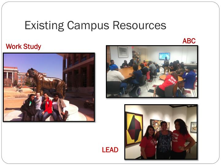 Existing Campus Resources