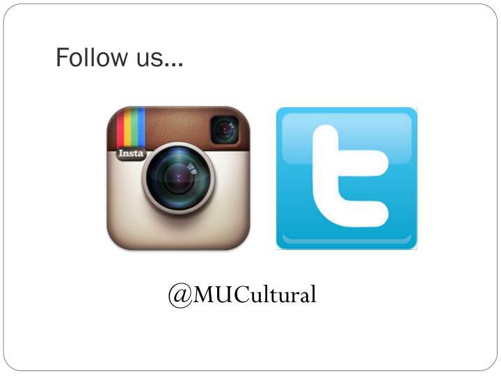 Follow us…