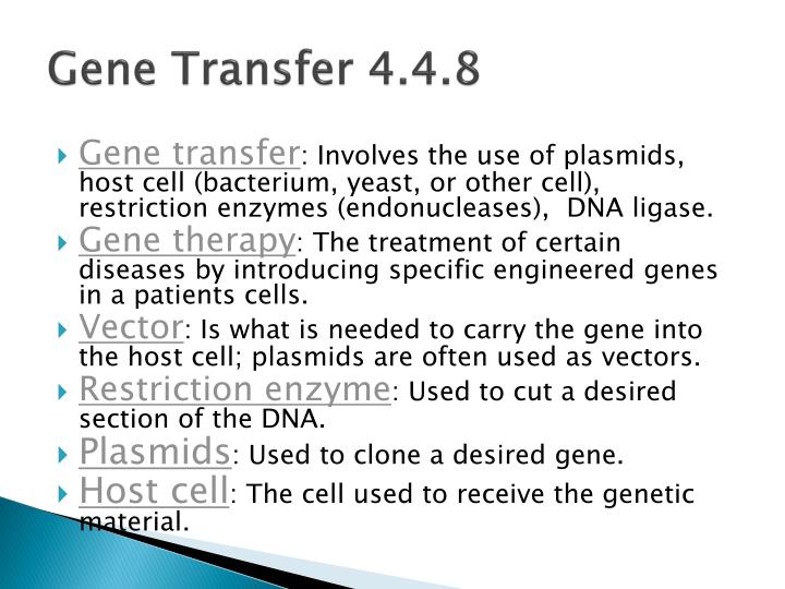 Gene Transfer 4.4.8