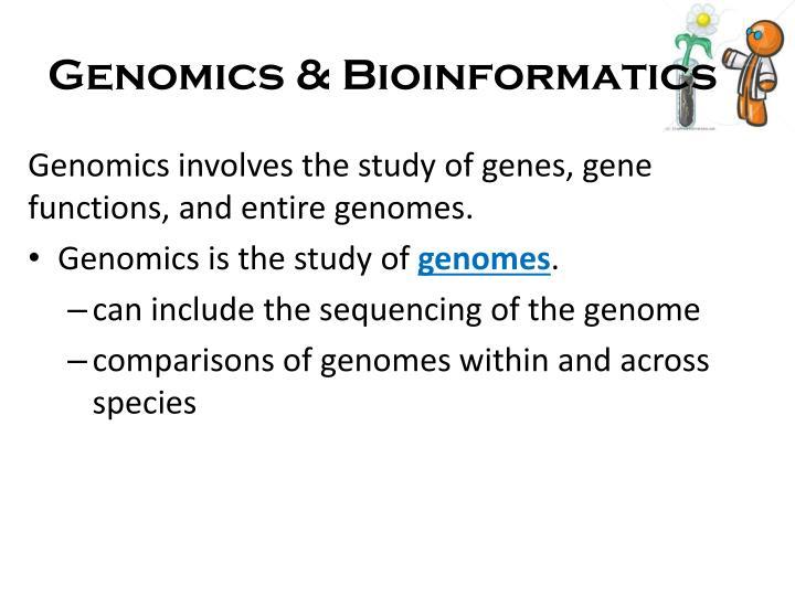 Genomics & Bioinformatics