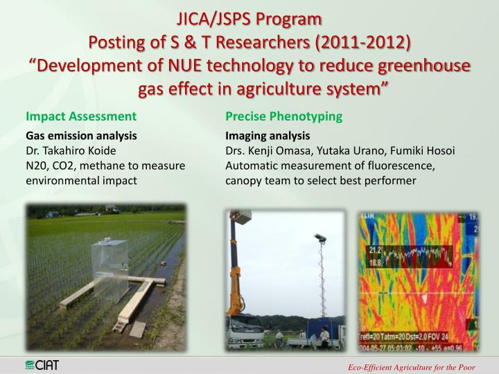JICA/JSPS Program