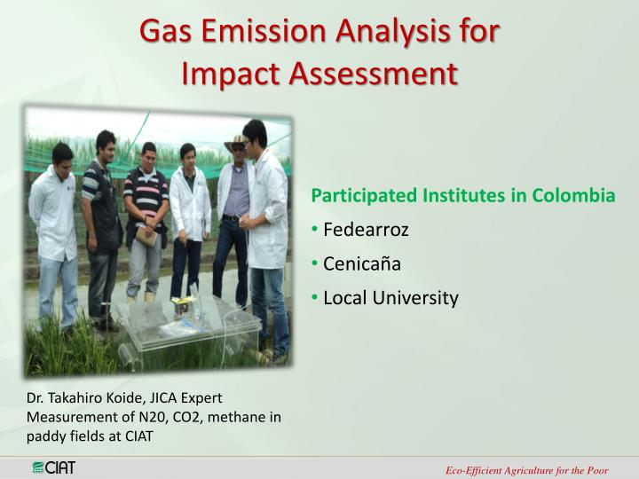 Gas Emission Analysis for