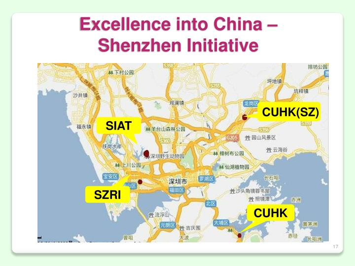 Excellence into China –