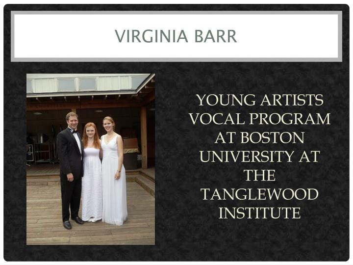Virginia Barr