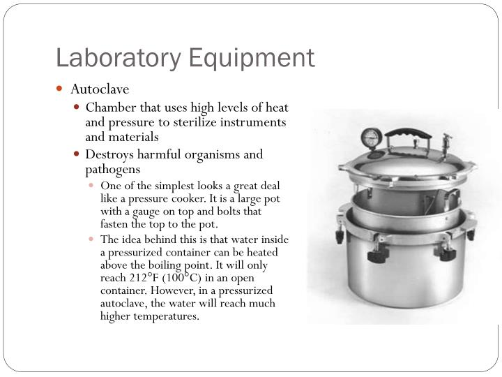 biotechnology laboratory equipments and their uses ppt