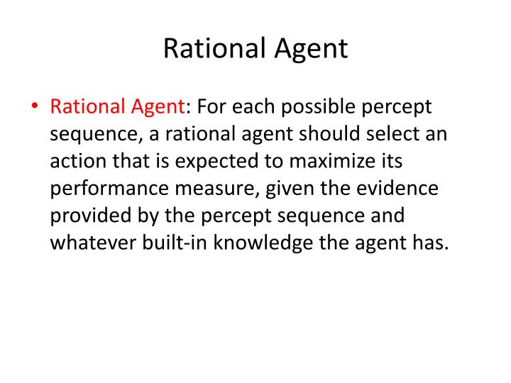 Rational Agent