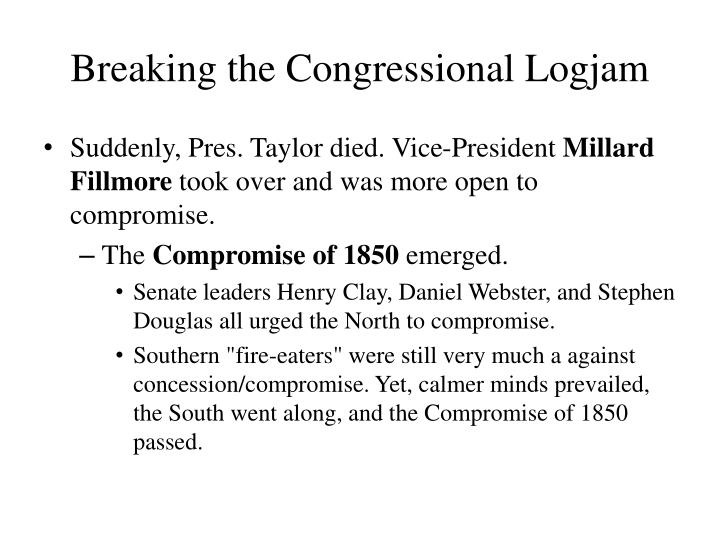 Breaking the Congressional Logjam