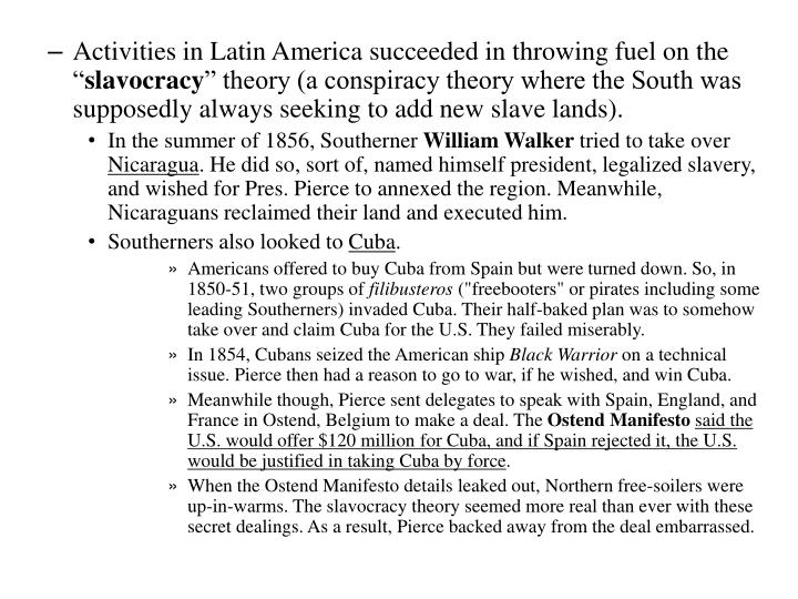 """Activities in Latin America succeeded in throwing fuel on the """""""