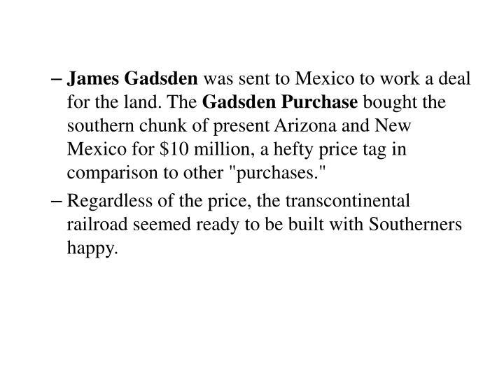 James Gadsden