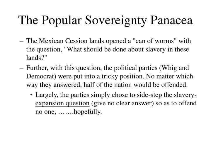 The Popular Sovereignty Panacea