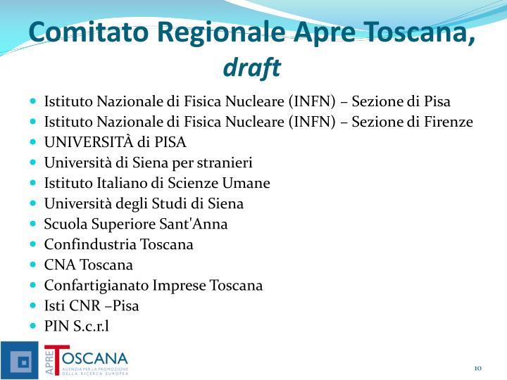 Comitato Regionale Apre Toscana,