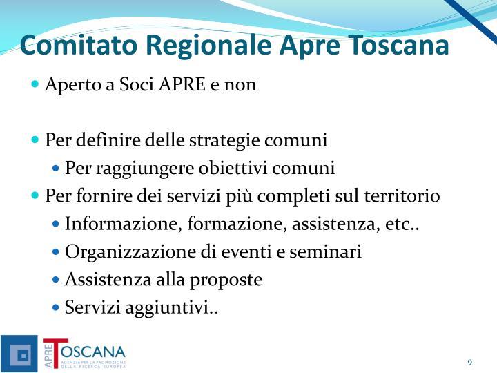 Comitato Regionale Apre Toscana