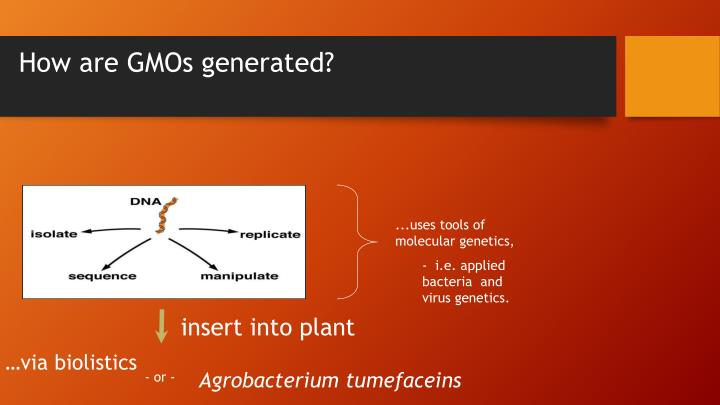 ...uses tools of molecular genetics,