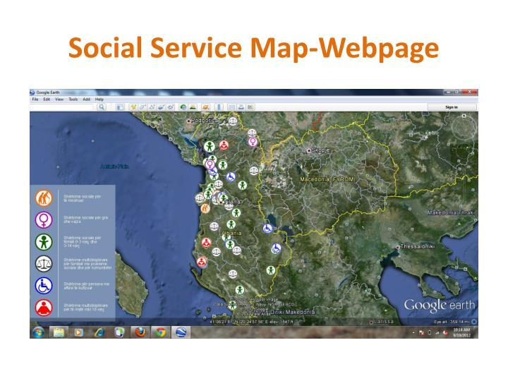 Social Service Map-Webpage